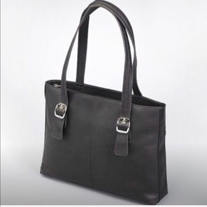 Leather tote purse GTM1018 Portfolio OOS Conceal